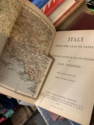 Italy From the Alps to Naples : Abridged Handbook For Travelers