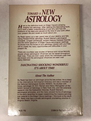 Toward a New Astrology: The Approach of Edgar Cayce