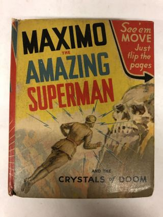 Maximo the Amazing Superman and the Crystals of Doom. R. R. Winterbotham