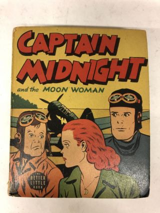 Captain Midnight and The Moon Woman. Chicago Sun Syndicate
