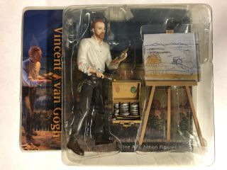 Fine Arts Action Figures Vincent Van Gogh