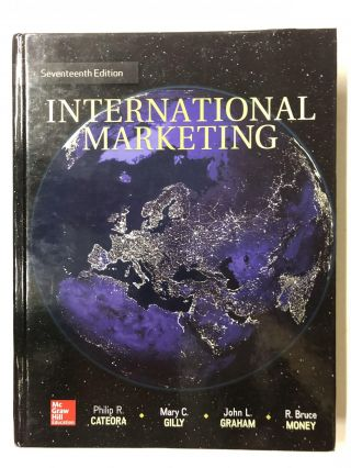 International Marketing. Philip R. Cateora