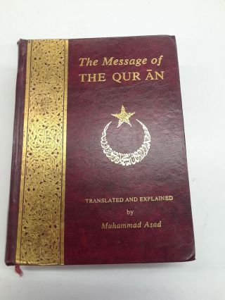The Message of The Qur'ān. Muhammad Asad, trans