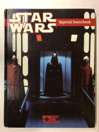 Star Wars Imperial Sourcebook. Greg Gorden