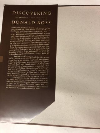 Discovering Donald Ross: The Architect and his Golf Courses