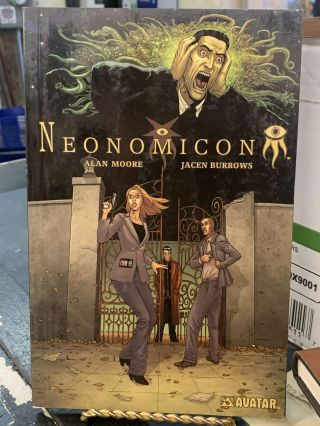 Neonomicon. Alan Moore, Jacen Burrows