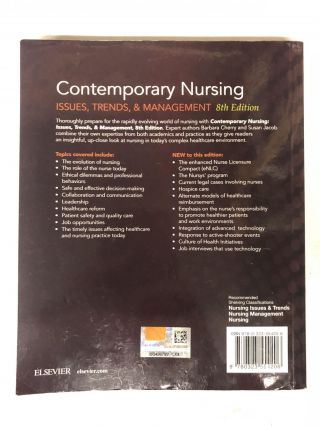 Contemporary Nursing: Issues, Trends, & Management: 20th Anniversary
