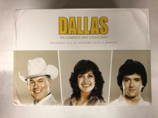 Dallas: The Complete Collection (Seasons 1-14 + 3 Movies