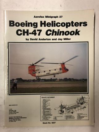 Boeing Helicopters Ch-47 Chinook. David A. Anderton