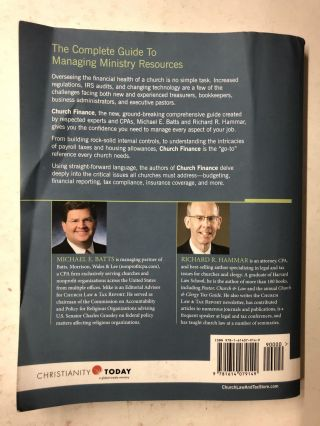 Church Finance: The Complete Guide to Managing Ministry Resources