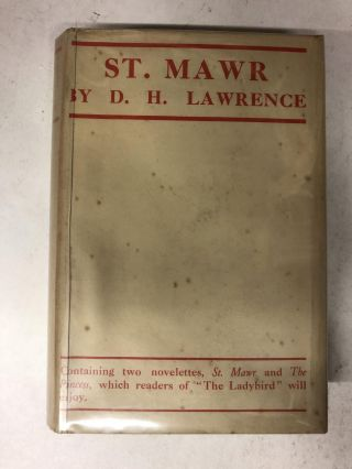 St. Mawr: Together with The Princess. D. H. Lawrence