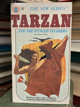 Tarzan and the Winged Invaders. Barton Werper