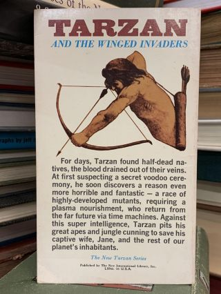 Tarzan and the Winged Invaders