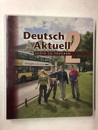 Deutsch Aktuell :Audio CD Program, Level 2