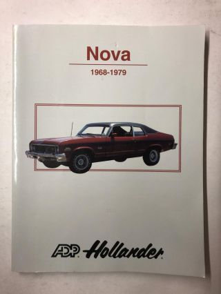 Nova 1968-1979. ADP Hollander
