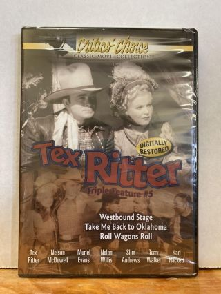 Tex Ritter Triple Feature #5
