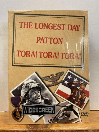 The Longest Day, Patton, Tora! Tora! Tora