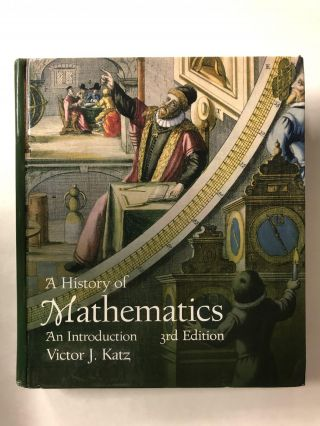 A History of Mathematics. Victor J. Katz