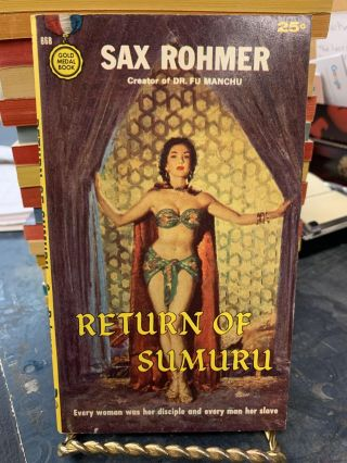 Return of Sumuru. Sax Rohmer