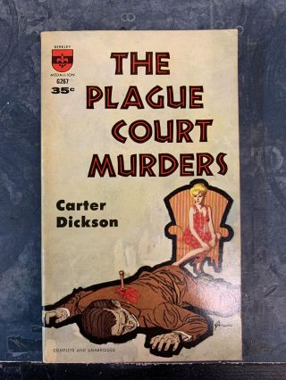 The Plague Court Murders. Carter Dickson