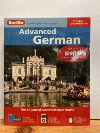 Advanced German. Berlitz