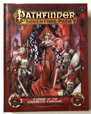 Pathfinder Adventure Path: Curse of the Crimson Throne. James Jacobs