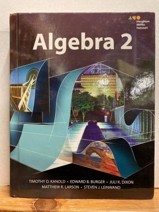 HMH Algebra 2: Student Edition 2015 (Hardcover). Timothy D. Kanold