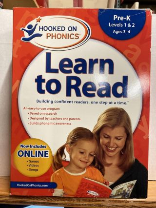 Amazon Exclusive Hooked on Phonics Learn to Read Pre-K Complete with BONUS. Hooked On Phonics