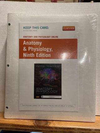 Anatomy & Physiology - Binder-Ready Package, 9e 9th Edition by Patton PhD, Kevin T. (2015) Loose...