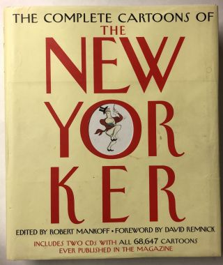 The Complete Cartoons of the New Yorker (Book & CD). Robert Mankoff
