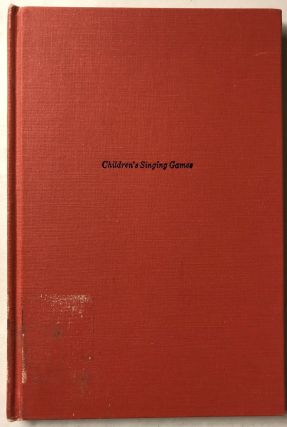 Children's Singing Games in Five Sets. Sharp Cebil B. Gomme