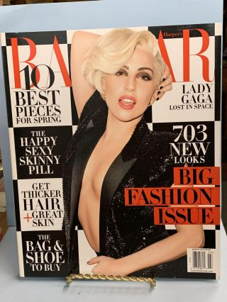 Harper's Bazaar March 2014 (Lady Gaga Lost in Space