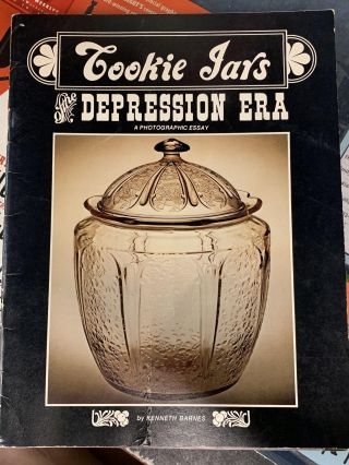 Cookie Jars of the Depression Era. Kenneth Barnes