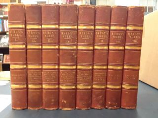 The Poetical Works of Lord Byron (8 volumes). John Murray