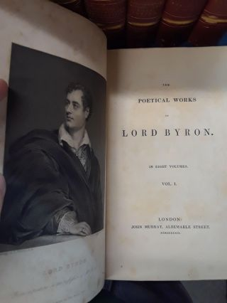 The Poetical Works of Lord Byron (8 volumes)
