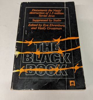 The Black Book. Iiya Ehrenburg, Vasily Grossman