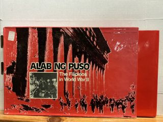 Alab Ng Puso: Filipinos in World War Ii (Heart on Fire) (Hardcover)