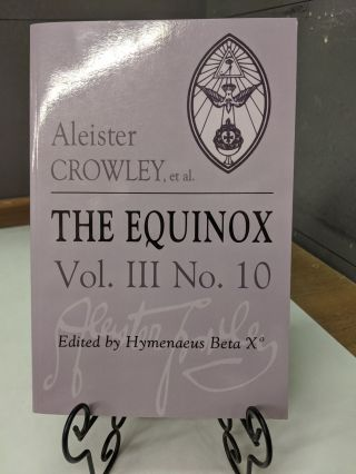 The Equinox. Aleister Crowley