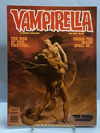 Vampirella Magazine #93 (January 1981