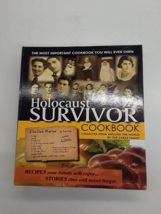 Holocaust Survivor Cookbook. The Caras Family