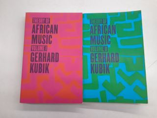 Theory of African Music. Gerhard Kubik