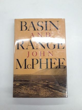 Basin and Range. John McPhee