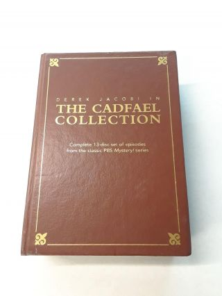 Derek Jacobi in The Cadfael Collection