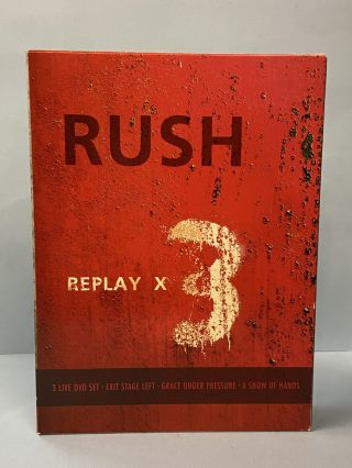 Rush- Replay X3