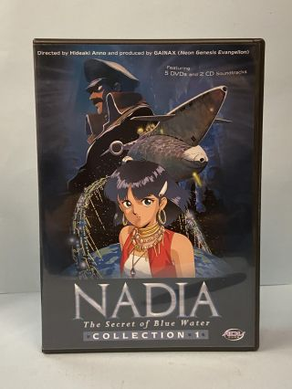Nadia: The Secret of Blue Water (Collection 1