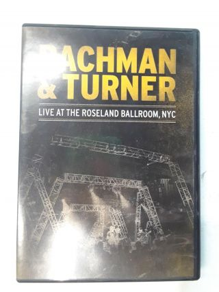 Live at the Roseland Ballroom NYC. Bachman, Turner