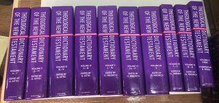 Theological Dictionary of the New Testament (10 Vol Set)