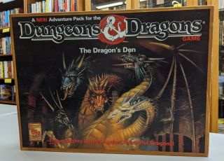 The Dragons' Den Adventure Pack (Boxed Set, Dungeons and Dragons Game