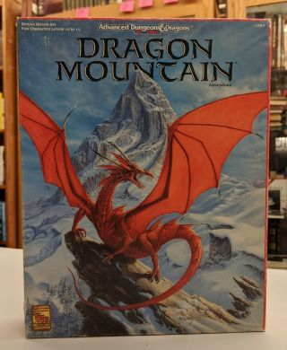 Dragon Mountain (AD&D 2nd Ed. Fantasy Roleplaying