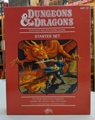 Wizards of the Coast Dungeons & Dragons Fantasy Roleplaying Game: an Essential D&D Starter